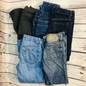 Other - Boys Jeans and Dress Pants Lot of 5, Size 8